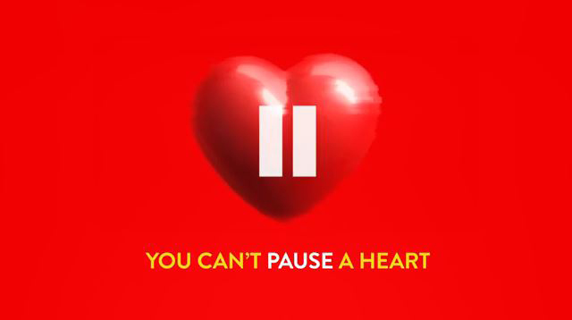 YOU CANT PAUSE A HEART